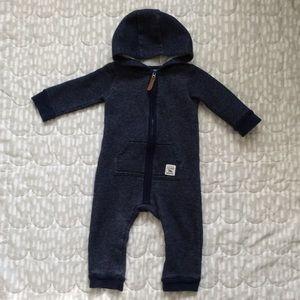 $6 BUNDLED | Boy Turn-around Fleece-lined Coverall